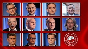 Wybory prezydenckie 2015: Sondażowe wyniki. Duda i Komorowski w II turze