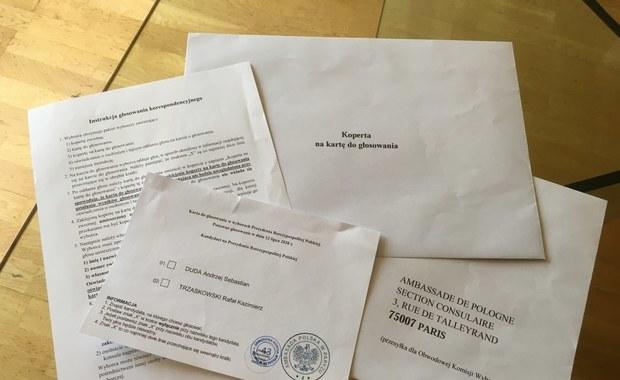 Wybory prezydenckie 2020. Co z pakietami dla Polaków głosujących za granicą?