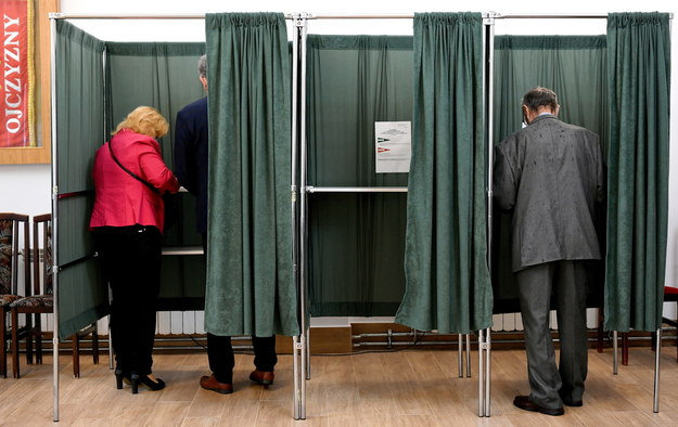 Wybory prezydenckie 2020. Głosowanie w podkarpackiej Żurawicy /Darek Delmanowicz /PAP