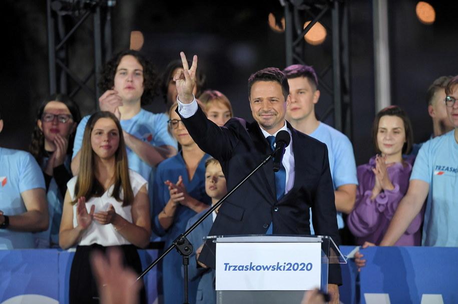 Wybory prezydenckie 2020 - II tura. Prezydent Warszawy, kandydat KO w wyborach prezydenckich Rafał Trzaskowski / Radek Pietruszka   /PAP