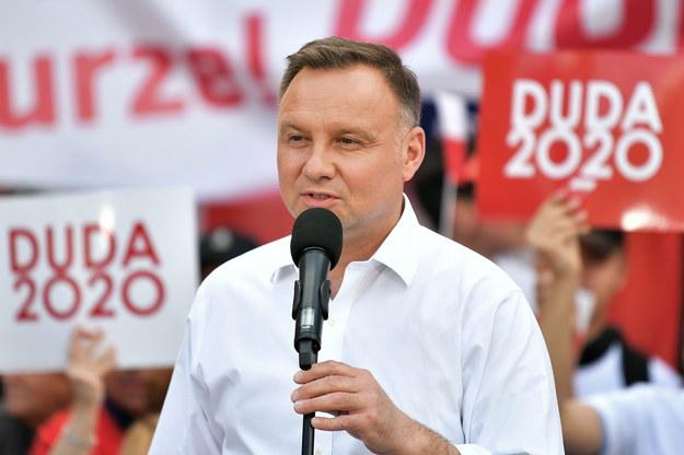 Wybory prezydenckie 2020 - II tura. Ubiegający się o reelekcję prezydent RP Andrzej Duda / Maciej Kulczyński    /PAP