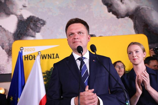 Wybory prezydenckie 2020. Kandydat na prezydenta RP Szymon Hołownia / Leszek Szymański    /PAP