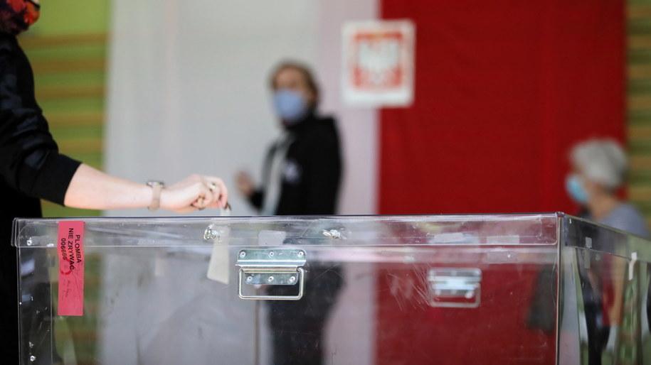 Wybory prezydenckie 2020. PKW podała nowe dane o frekwencji /Leszek Szymański /PAP