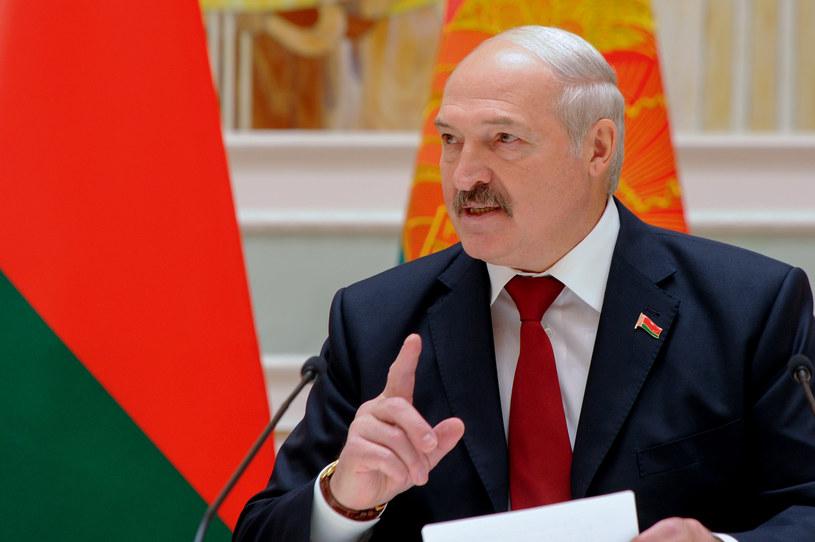 Wybory prezydenckie na Białorusi są zaplanowane 9 sierpnia. Na zdjęciu prezydent Aleksandr Łukaszenka. /SERGEI GAPON /AFP