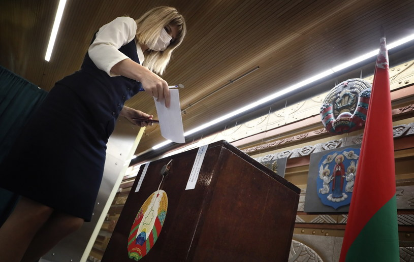 Wybory prezydenckie na Białorusi /MAXIM SHIPENKOV    /PAP