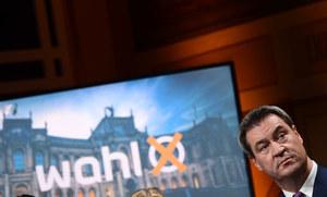 Wybory w Bawarii: Upadek CSU, Zieloni drugą siłą polityczną