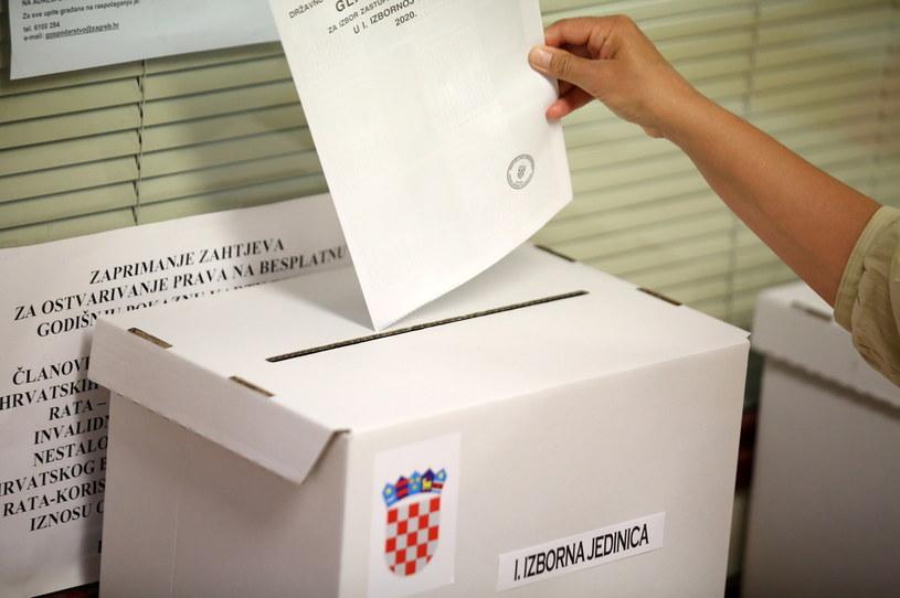 Wybory w Chorwacji /Daniel Kasap /PAP/EPA