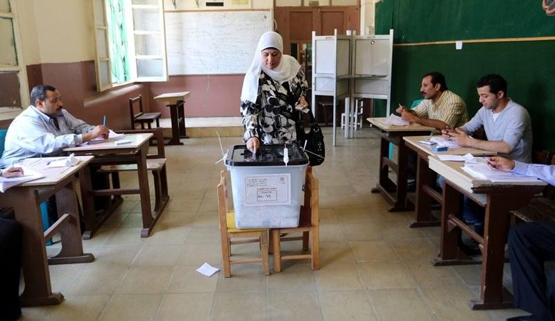 Wybory w Egipcie /KHALED ELFIQI   /PAP/EPA