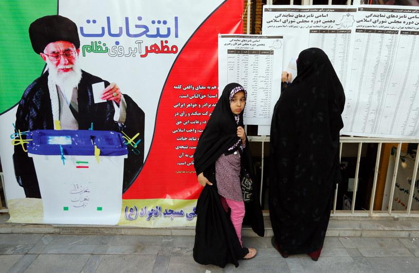 Wybory w Iranie /Abedin Taherkenareh   /PAP/EPA