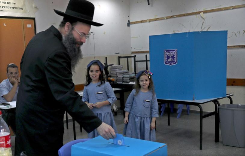 Wybory w Izraelu /ATEF SAFADI  /PAP/EPA