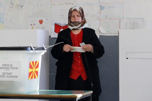 Wybory w Macedonii /VALDRIN XHEMAJ    /PAP/EPA