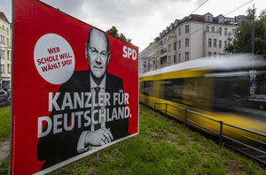 """Wybory w Niemczech: Dwaj rywale idą łeb w łeb. """"Wszystko może się zmienić"""""""