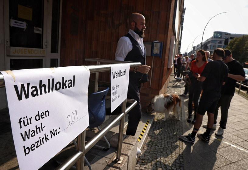 Wybory w Niemczech /PAP/EPA/FILIP SINGER /PAP