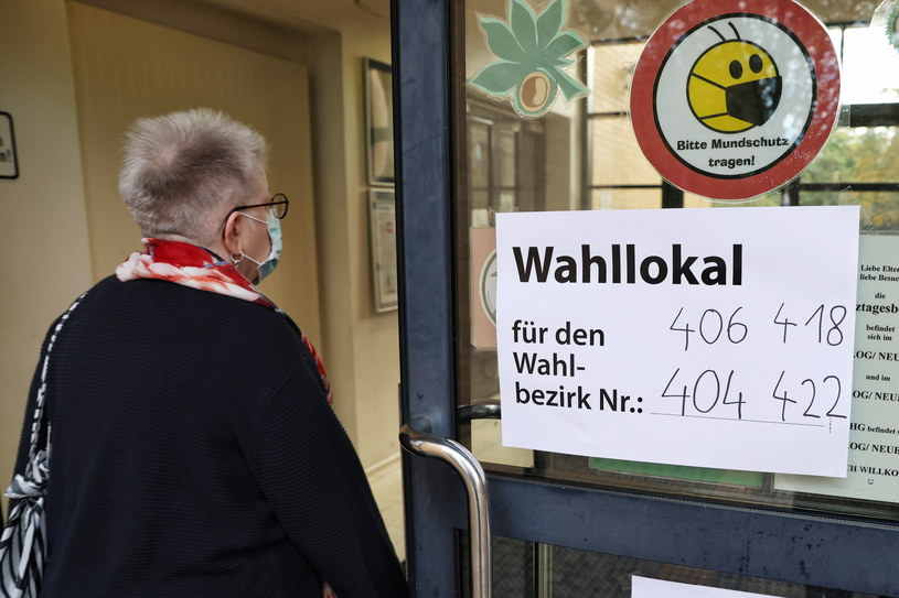 Wybory w Niemczech /FILIP SINGER /PAP/EPA