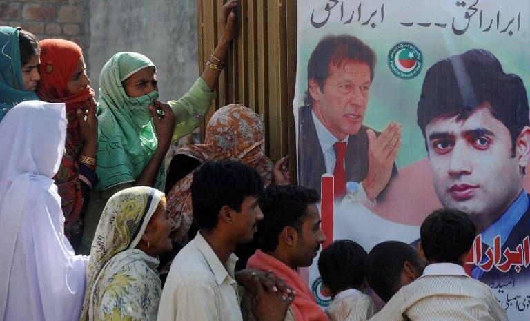 Wybory w Pakistanie /AFP