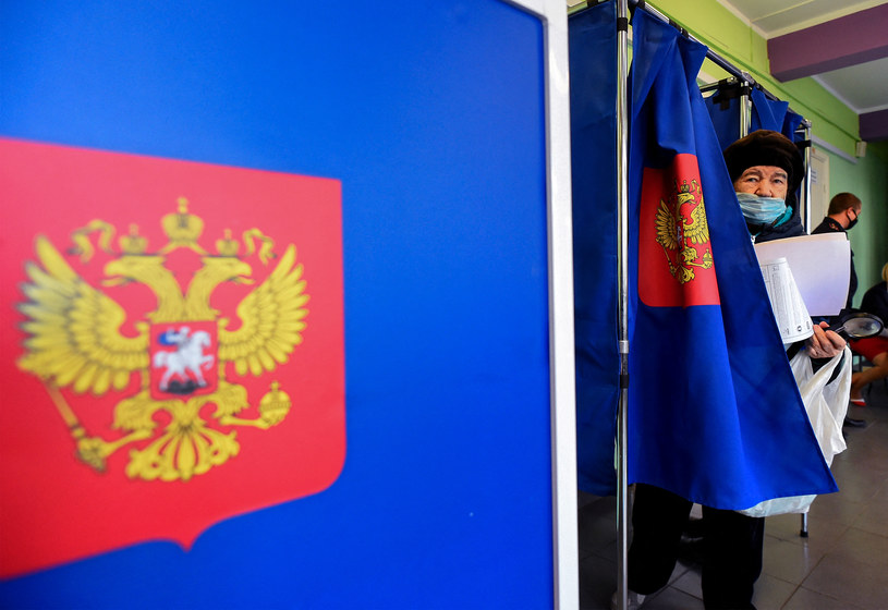 Wybory w Rosji /AFP