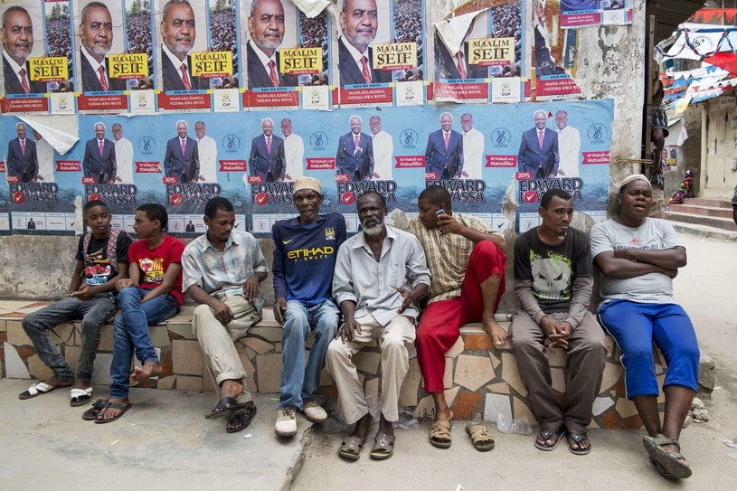 Wybory w Tanzanii /Daniel Hayduk /AFP