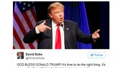 Wybory w USA. Były lider Ku Klux Klanu gratuluje Trumpowi