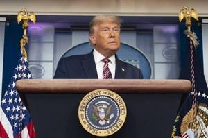 Wybory w USA: Donald Trump jednak zabrał głos. Mówi o zwycięstwie