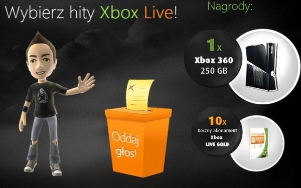Wybory Xbox Live - motyw graficzny /Informacja prasowa