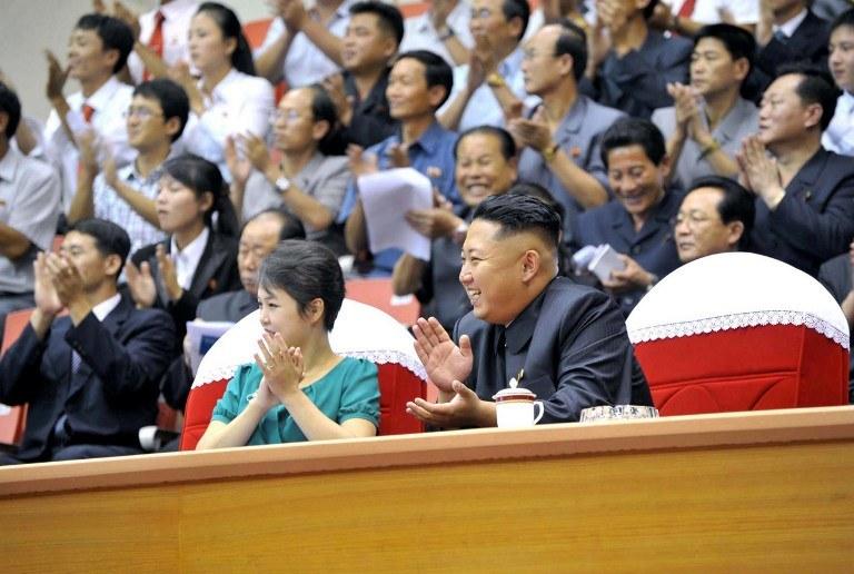 Wybranka koreańskiego przywódcy rzadko pojawia się publicznie, zdj. prawdopodobnie z 2013 r. /KCNA /AFP