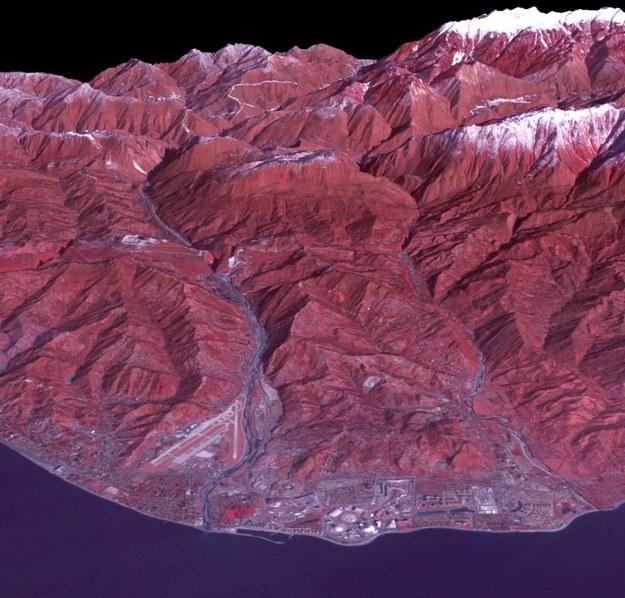 Wybrzeże Morza Czarnego /NASA