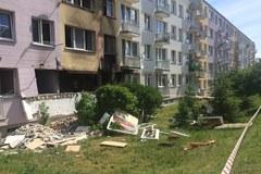 Wybuch butli z gazem w Ozorkowie
