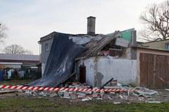 Wybuch doszczędnie zniszczył budynek