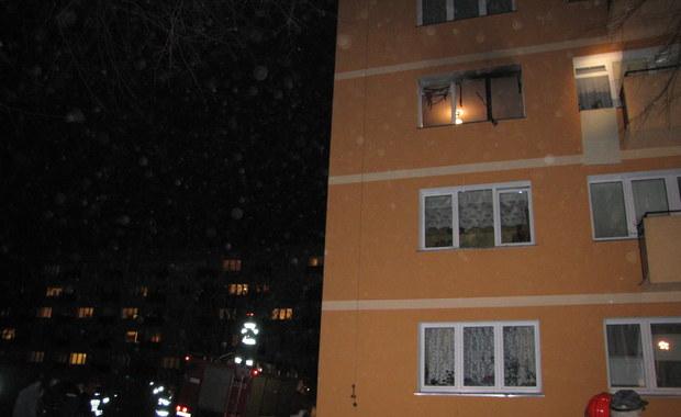 Wybuch gazu w bloku w Szczecinie. Są ranni