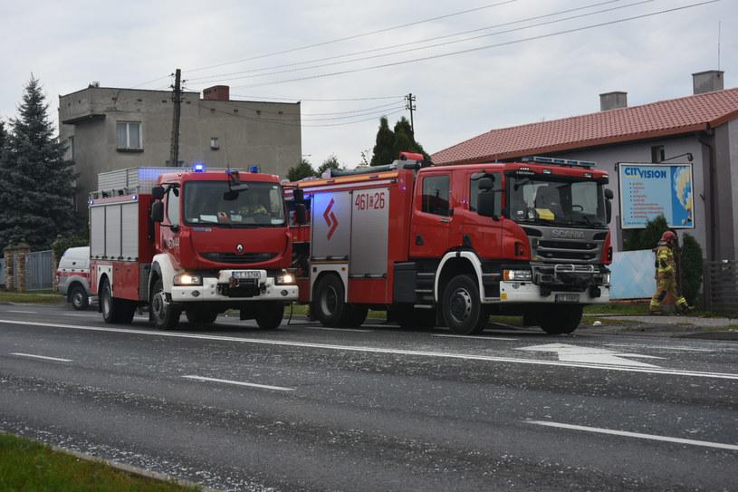 Wybuch gazu w domu jednorodzinnym w Inowrocławiu /ino.online /