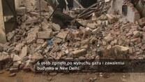 Wybuch gazu w Indiach. 6 osób nie żyje