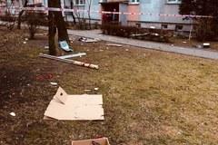 Wybuch gazu w Łodzi. 34-letnia kobieta w stanie ciężkim