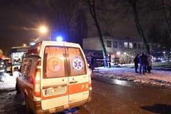 Wybuch gazu w Łodzi