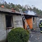 Wybuch gazu w miejscowości Okoń. Dwie osoby nie żyją