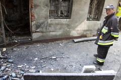 Wybuch gazu w Olesnie