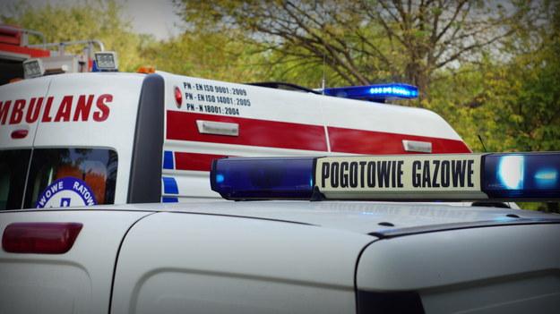 Wybuch gazu w Stoszowicach na Dolnym Śląsku /Archiwum RMF FM
