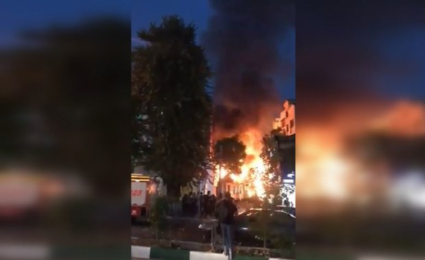 Wybuch gazu w szpitalu w Teheranie: 19 osób zginęło