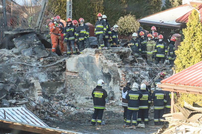 Wybuch gazu zniszczył całkowicie dom /Jakub Kaminski/ /East News