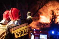 Wybuch i pożar hali w Kędzierzynie Koźlu.