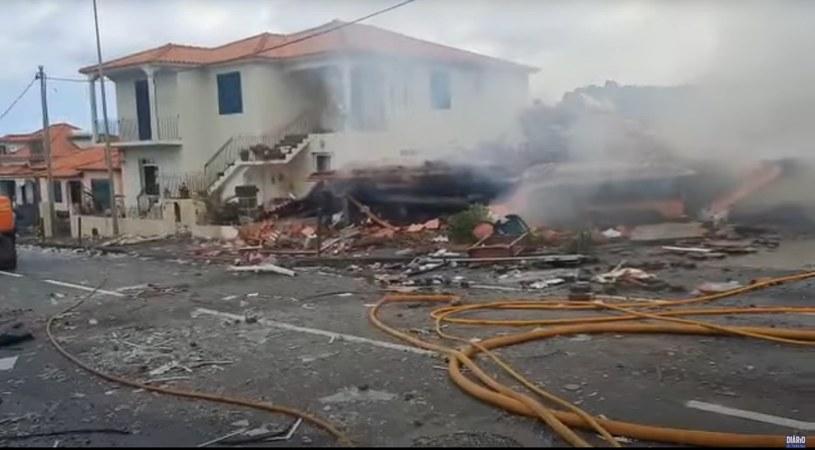 Wybuch na Maderze /Diário de Notícias — Madeira /YouTube