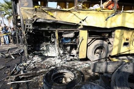 Wybuch opony przyczyną tragedii /AFP