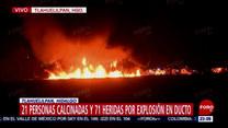 Wybuch ropociągu w Meksyku