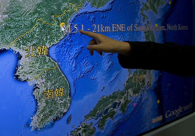 Wybuch spowodował wstrząs o sile 5,1 st. w skali Richtera. Odnotowały go obserwatoria sejsmologiczne w USA, Japonii, Chinach i Korei Południowej /AFP