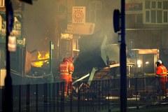 Wybuch w brytyjskim Leicester