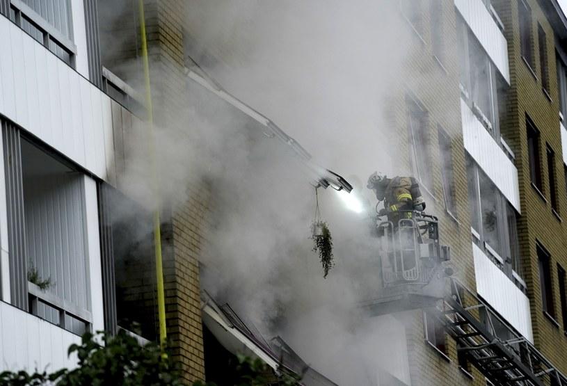 Wybuch w budynku mieszkalnym w Goeteborgu /TT News Agency/Associated Press/ /East News