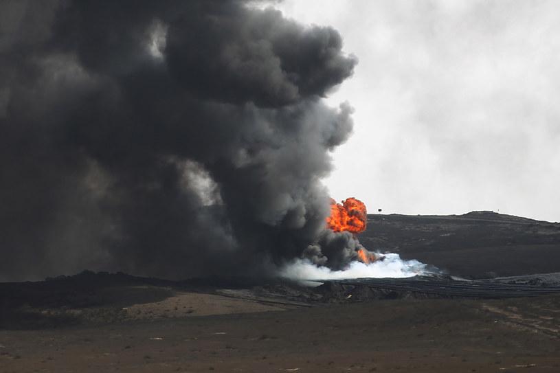 Wybuch w Iraku (arch.) /AFP