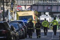 Wybuch w londyńskim metrze