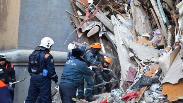 Wybuch w Magnitogorsku. Wydobyto już 31 ciał, wśród ofiar dzieci