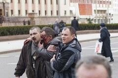 Wybuch w metrze w Mińsku