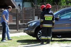 Wybuch w skupie złomu w Warszawie